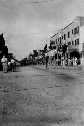 Washington Ave parade