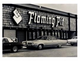Flaming pit