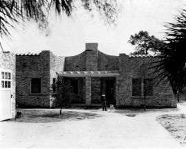 1925 Fannie Waters house on Indian River Ave