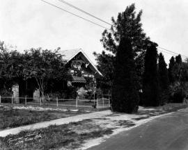George W. Scobie house