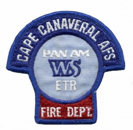 Cape Canaveral Fire Service Patch