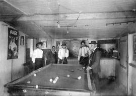 Titusville pool hall